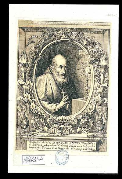 [Retrato de San Juan de Ribera] [Material gráfico]