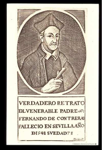 [Retrato de V. P. Fernando de Contreras] [Material gráfico]
