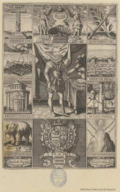 [Retrato de Felipe III, Rey de España] [Material gráfico]