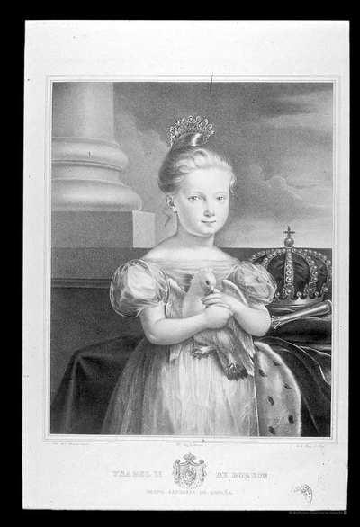[Retrato de Isabel II] [Material gráfico]262 X 327
