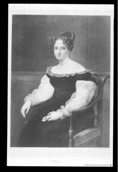 [Retrato de Teresa Vera de Aragon] [Material gráfico]
