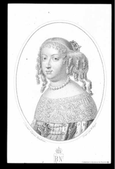 [Retrato de María Teresa de Austria] [Material gráfico]J. Croizier d'aprs Beaubrun. Gravé par B. Roger. . Ovalo 87 X 67