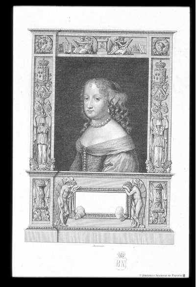 [Retrato de María Teresa de Austria] [Material gráfico]