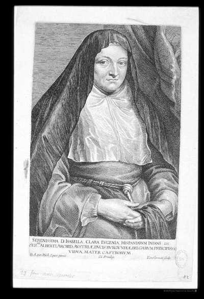 [Retrato de Isabel Clara Eugenia de Austria] [Material gráfico]