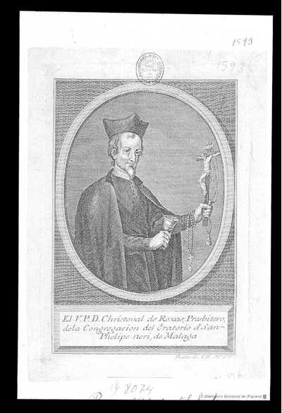[Retrato de P Rojas] [Material gráfico]130 X 190..Dos pruebas, una de la Colección Carderera
