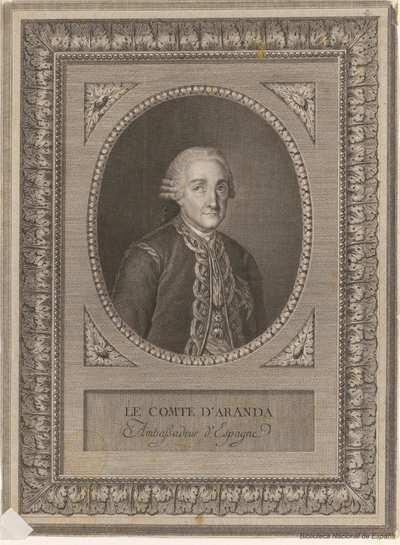 [Retrato de Pedro Pablo Abarca de Bolea] [Material gráfico]
