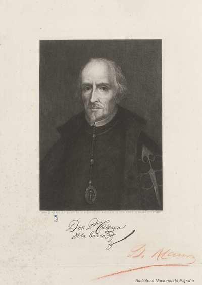 [Retrato de Pedro Calderón de la Barca] [Material gráfico]