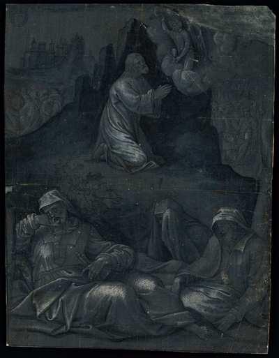 [Oración en el Huerto de los Olivos] [Material gráfico]