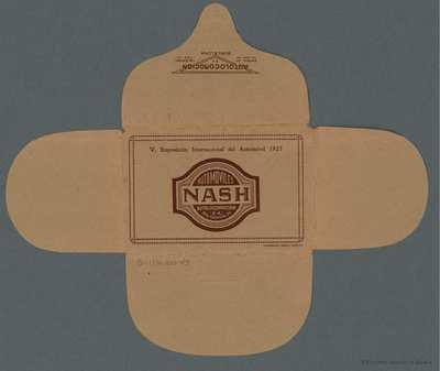 Automóviles Nash. V Exposición Internacional del Automóvil [Material gráfico]
