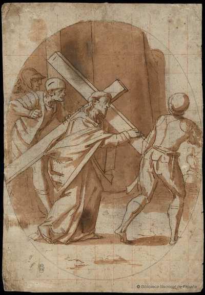 [Cristo con la cruz a cuestas] [Material gráfico]