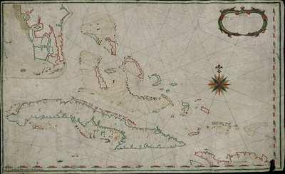 Nueba Descripción de la Isla de Cuba parte de la Española Canal de Bahama y Bique de Neque y de Berreque y todos sus Bancos e Islas [Material cartográfico]