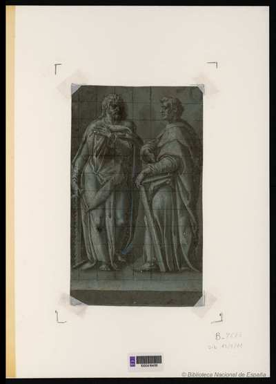 [San Simón y San Judas] [Material gráfico]