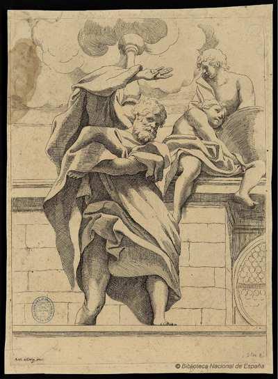 [Decoración de la cúpula de la catedral de Parma] [Material gráfico]