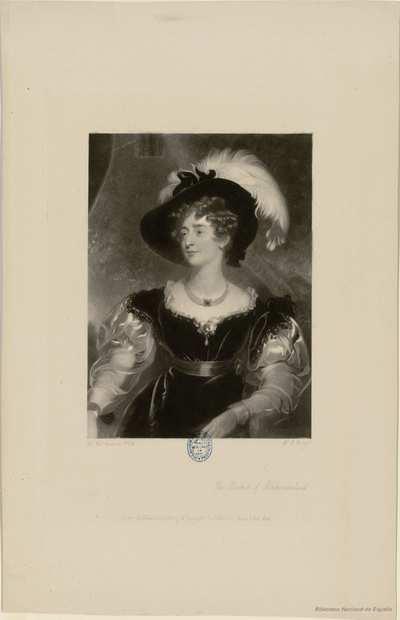 The Duchess of Northumberland