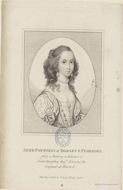 ANNE COUNTESS AND DORSET & PEMBROKE