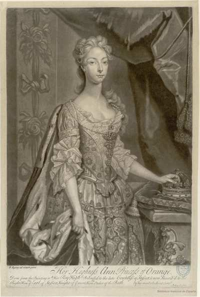 [Ana de Inglaterra, Princesa de Nassau-Orange]