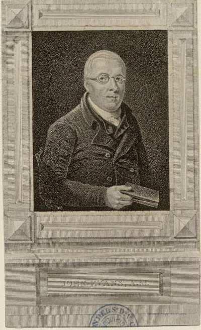 JOHN EVANS A. M.
