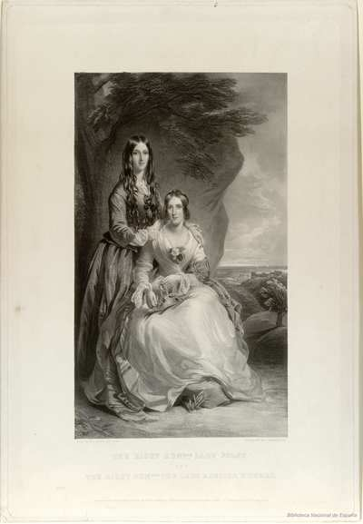 THE RIGHT HNBLE LADY FOLEY AND THE RIGHT HONBLE THE LADY ADELIZA HOWARD