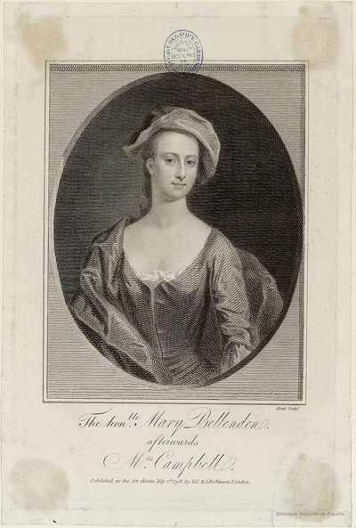 The honble. Mary Bellenden
