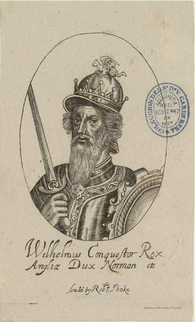 Wilhelmus Conquestor Rex Angliae Dux Norman etc.