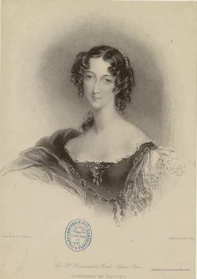 The Rt. Honourable Sarah Sophia Fane, COUNTESS OF JERSEY