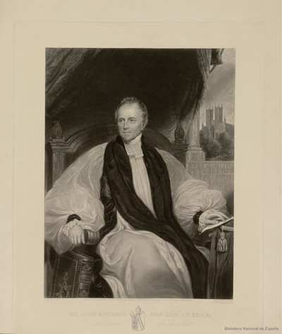 THE RIGHT REVEREND JOHN KAYE, D. D. F. R. S. &c. :Lord Bishop of Lincoln
