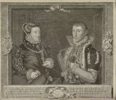 Frances DUTCHESS of Suffolk and her Husband ADRIAN STOCKES Esqr.