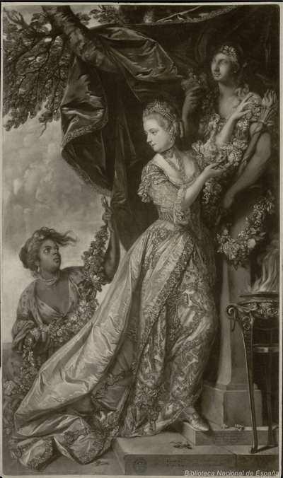Elizabetha Keppel, Comitis Albemarliae Filia, Regiis Nuptiis Adsuit 1761