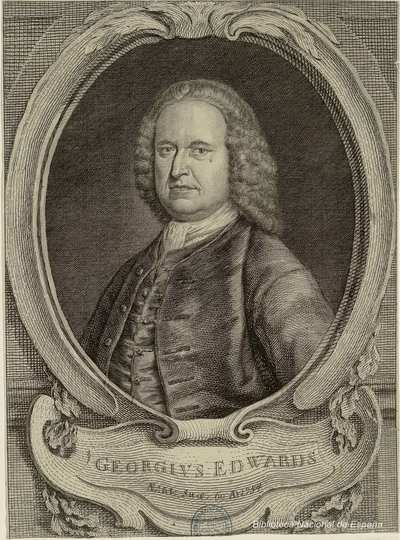 GEORGIVS EDWARDS : Aetat: suae: 60 AD 1754