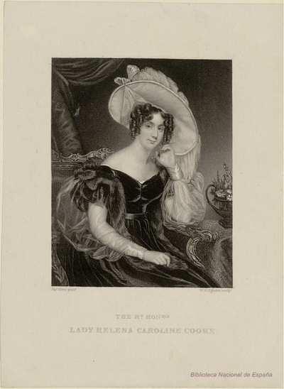 THE RT. HONBLE. LADY HELENA CAROLINE COOKE