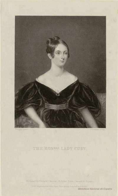 THE HONBLE. LADY CUST