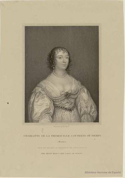 CHARLOTTE DE LA TREMOUILLE, COUNTESS OF DERBY : OB. 1663