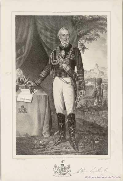 EL DUQUE DE WELINGTON Y DE CIUDAD RODRIGO