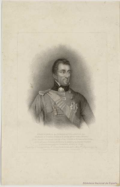 FIELD MARSHAL the MARQUIS of WELLINGTON, K. G.