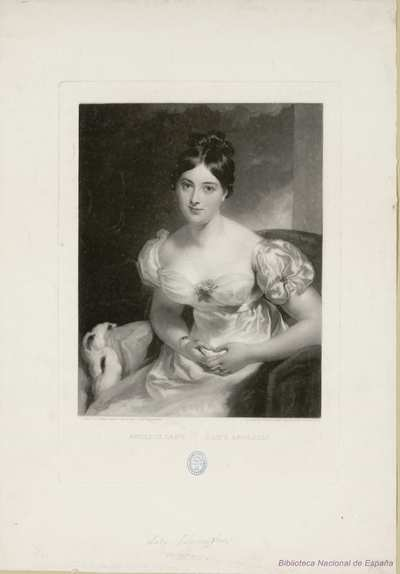 ENGLISH LADY DAME ANGLAISE