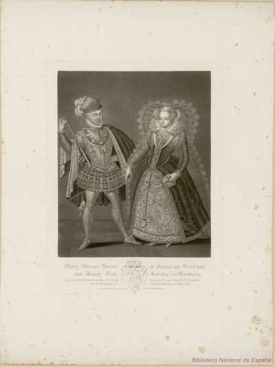 Mary Stuart, Queen of France and Henry, Lord Darnley, her husband