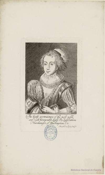 [Retrato de Catherine Manners, duquesa de Buckingham] [Material gráfico]