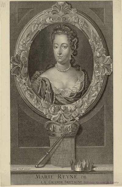MARIE REYNE DE LA GRANDE BRETAGNE
