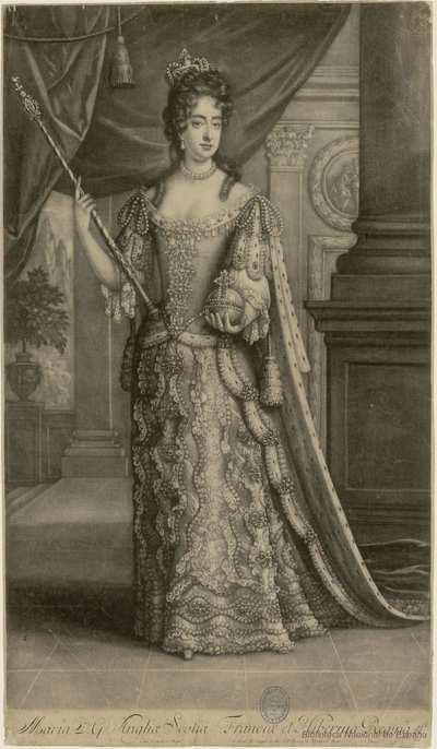 Maria D. G. Angliae, Scotiae, Franciae et Hiberniae, Regina &ct