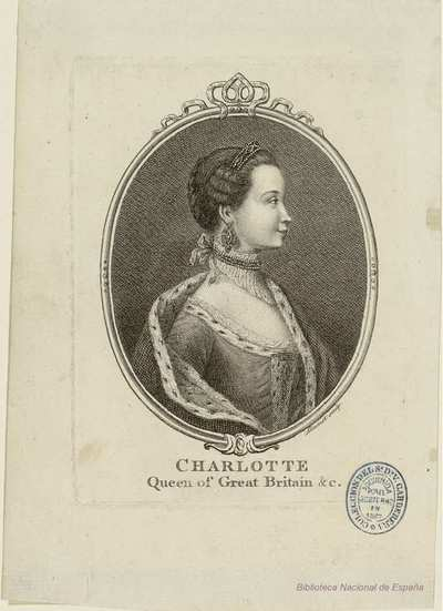 Image from object titled CHARLOTTE, Queen of Great Britain &c.