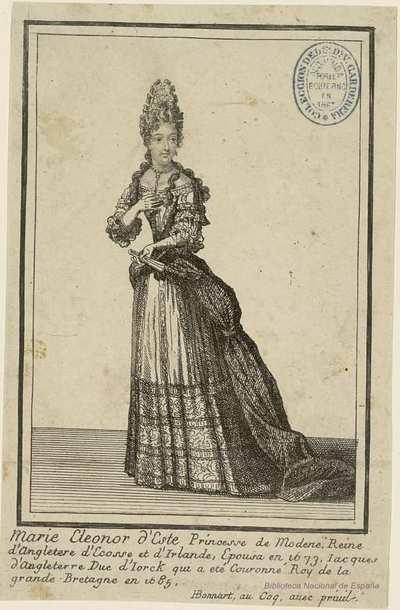 Maria Eleonor d´Este Princesse de Modena