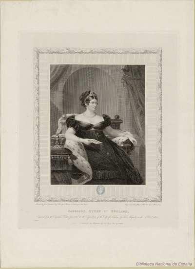 CAROLINE, QUEEN OF ENGLAND