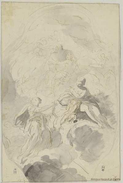 [Venus dando su cinturón a Juno] [Material gráfico]