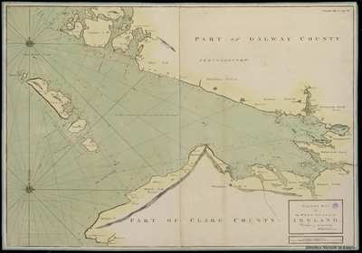 Image from object titled Galway Bay on the West Coast of Ireland [Material cartográfico]