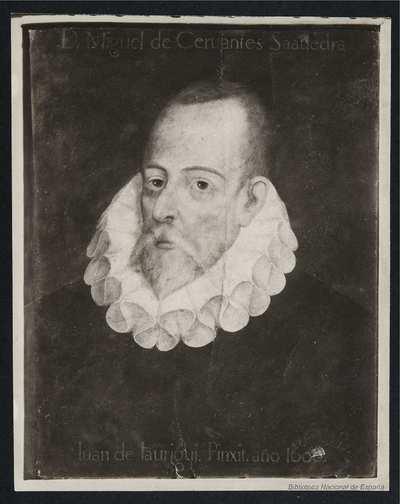[Retrato de Cervantes por Juan de Jáuregui]