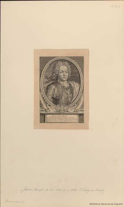 [Retrato de Jacques-François de Chambray]