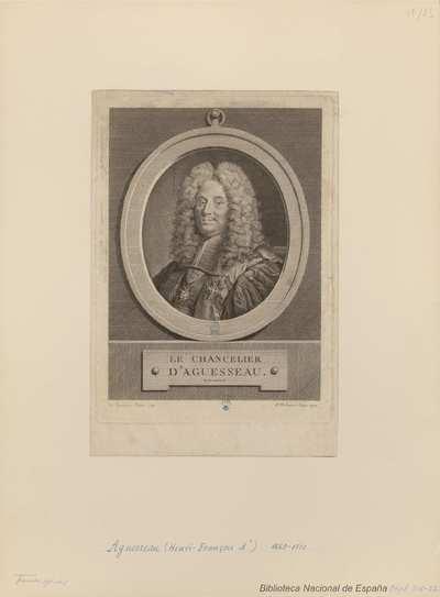 [Retrato de Henry-François d`Aguesseau]