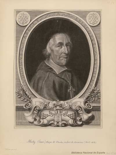 [Retrato de Louis Abelly, obispo de Rhodes, confesor de Mazarino (1603-1691)] /cAnt. Masson Pin et Sulpebat