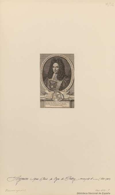 [Retrato del Marqués de Argenson 1688-1741]