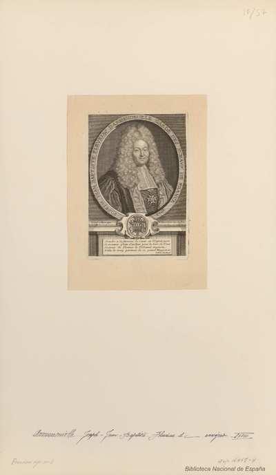 [Retrato de Joseph Jean-Baptiste Fleuriau d'Armenonville]/E. Desrochers